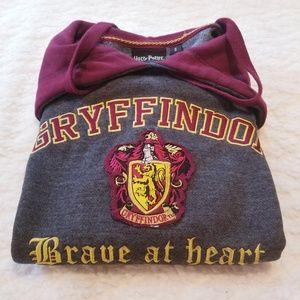Harry Potter Gryffindor Hooded Sweatshirt Sz Small
